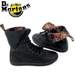Dr. Martens Floral Lined Fold Stratford Boots